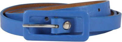Something Special Women, Girls Casual, Formal, Party Blue Artificial Leather Belt