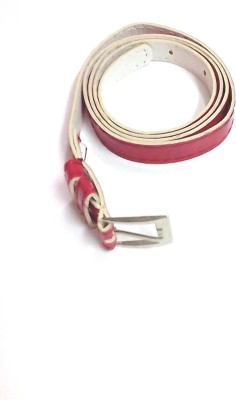 Indian Swan Girls, Women Party Maroon Artificial Leather Belt
