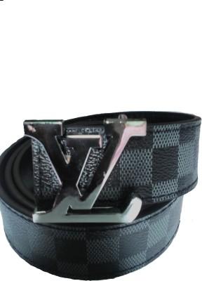 Sahara Boys, Men Black Artificial Leather Belt