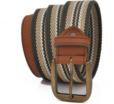 Stylox Men Casual Grey Genuine Leather Belt