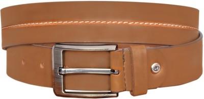 sankalp Boys Party Maroon Genuine Leather Belt