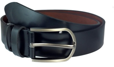 Ammvi Creations Men Casual Black Synthetic Belt