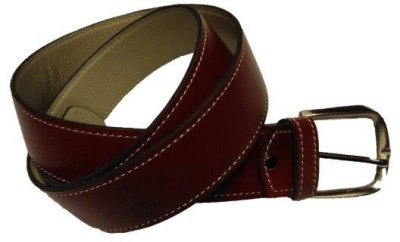 Leather Mall Men Casual Tan Genuine Leather Belt