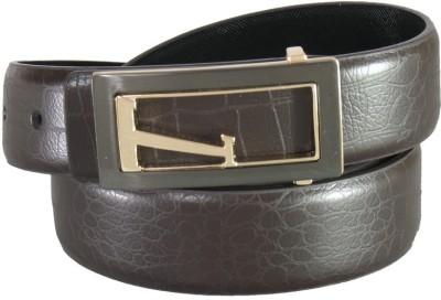 Lion Heart Men Casual Brown Artificial Leather Belt