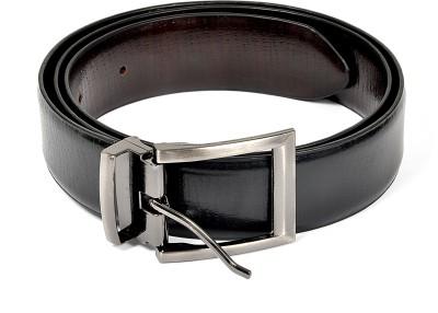 Frow Men Black Genuine Leather Belt