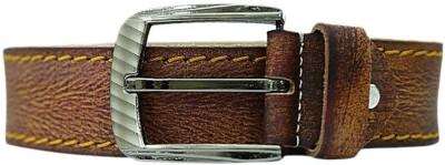 Simran Boys Brown Artificial Leather Belt