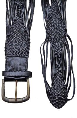 Hi Look Women Casual Black Genuine Leather Belt