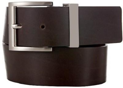 Black Cat Men Formal Brown Genuine Leather Belt
