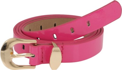 Aadi And Sons Women Casual Pink Artificial Leather Belt