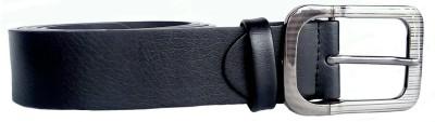 BeltsMB Men Black Genuine Leather Belt