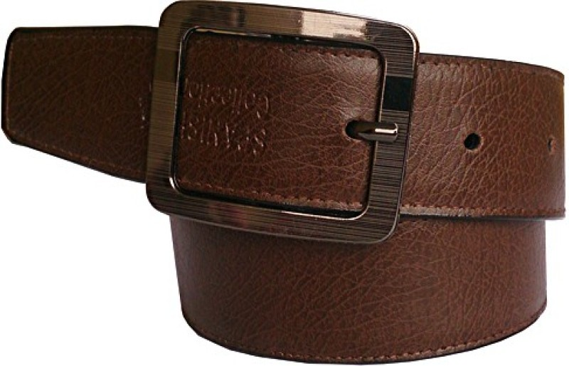 Wholesome Deal Men Formal Brown Synthetic Reversible Belt