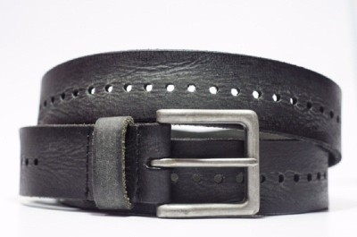 Vickiana Quest Boys Casual Black Genuine Leather Belt