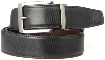Goguava Men Casual Brown Genuine Leather Reversible Belt