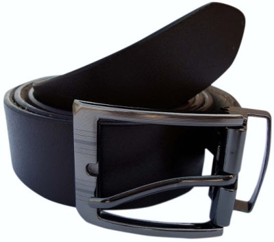 MMS Men Formal Brown Genuine Leather Belt