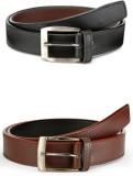 Arum Men Casual Multicolor Genuine Leather Belt