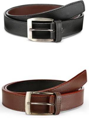 Arum Men Casual Multicolor Genuine Leather Belt