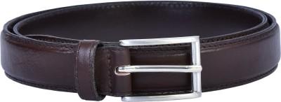 Lafaas Men Casual Brown Genuine Leather Belt