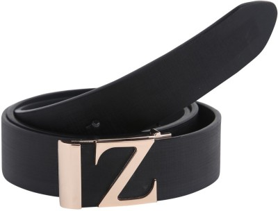 Alphaman Men Casual, Formal Black Artificial Leather Belt