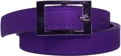 Ekora Girls Casual Purple Artificial Leather Belt