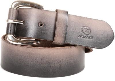 e-Adams Men Casual Grey Genuine Leather Belt