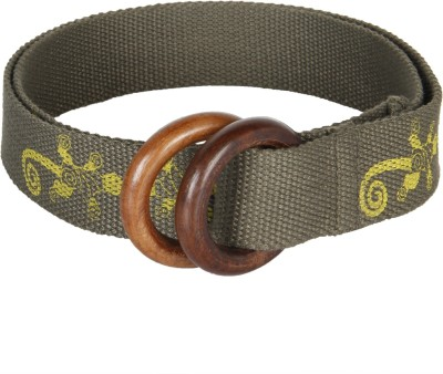 Anekaant Women Casual Grey Fabric Belt