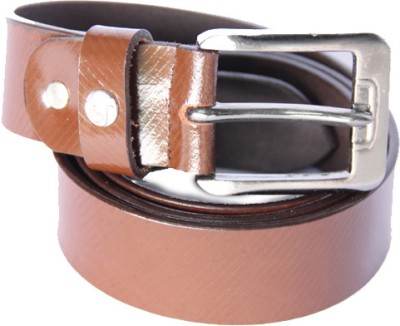 Matrix Men Casual Brown Genuine Leather Belt