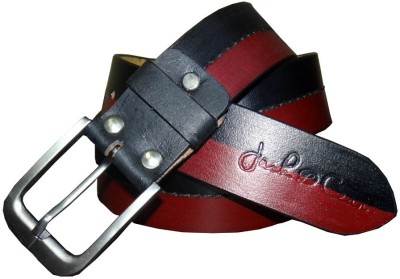 Czars Exports Men Party Black Genuine Leather Belt