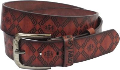Carey Kevin Men Casual Black Genuine Leather Belt