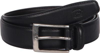 Kaizu Men Formal Black Genuine Leather Belt