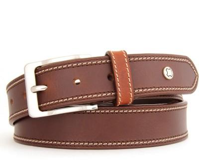 Hidea Men Formal Brown Genuine Leather Belt