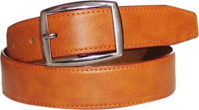 Assashion Boys, Men Tan Texas Leatherite Belt