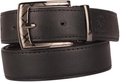 ZDO Men Formal Brown Genuine Leather Belt