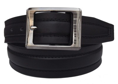 FRONEX INDIA Men Black Synthetic Belt