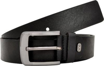 Silverbull Men Casual Black Genuine Leather Belt