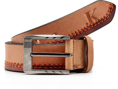 Junckers Men, Boys Casual, Party, Evening Brown Genuine Leather Belt