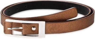 Contra Women Khaki Artificial Leather Belt