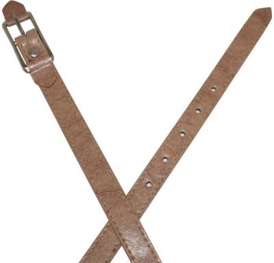 Winsome Deal Women Casual Beige Artificial Leather Belt