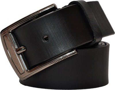 Hide Bulls Men Casual Black Genuine Leather Belt
