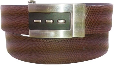 Sanshul Men Brown Genuine Leather Belt