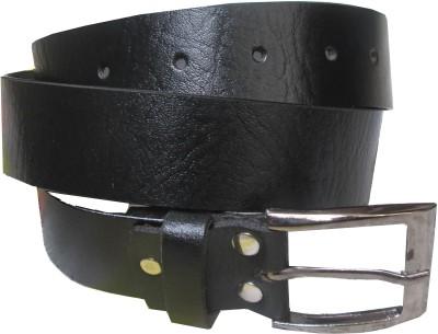 adglee Boys, Men Casual, Formal, Party Black Genuine Leather Belt