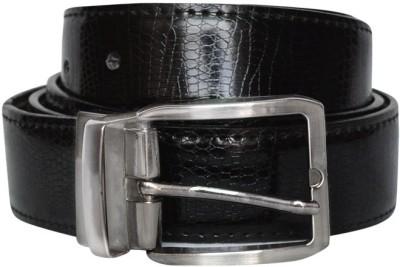 Bueva Men, Women Black, Brown Texas Leatherite Reversible Belt