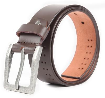Chisel Men Casual Brown Genuine Leather Belt