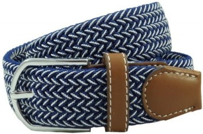The Tie Hub Men Casual Blue Synthetic Belt