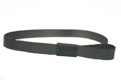Vickiana Quest Girls, Women Casual, Formal Grey Genuine Leather Belt