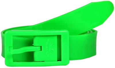 Colorful belts Women Casual Green Synthetic Reversible Belt
