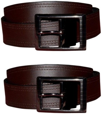 sankalp Boys Formal Multicolor Artificial Leather Reversible Belt