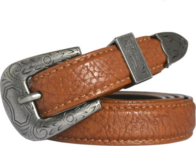 loopa Women Casual Brown Synthetic Belt