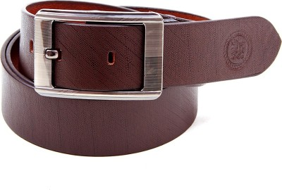 Harex Men, Boys Casual, Evening, Formal, Party Brown Genuine Leather Belt