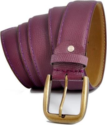 Stylox Men Casual Purple Synthetic Belt