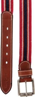 Randier Men Casual Multicolor Canvas Belt